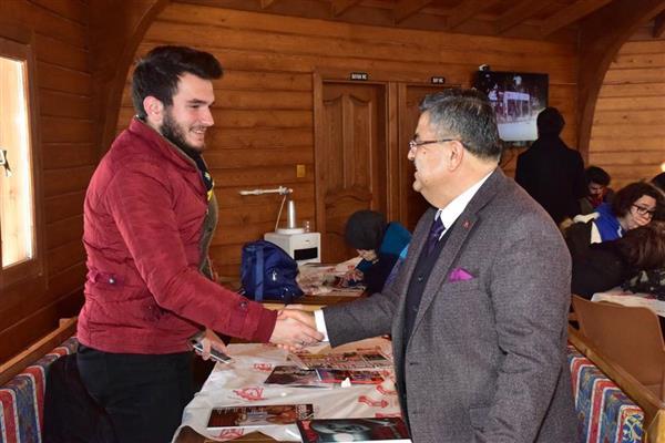 Bilecik Milletvekili Selim Yağcı Üniversite