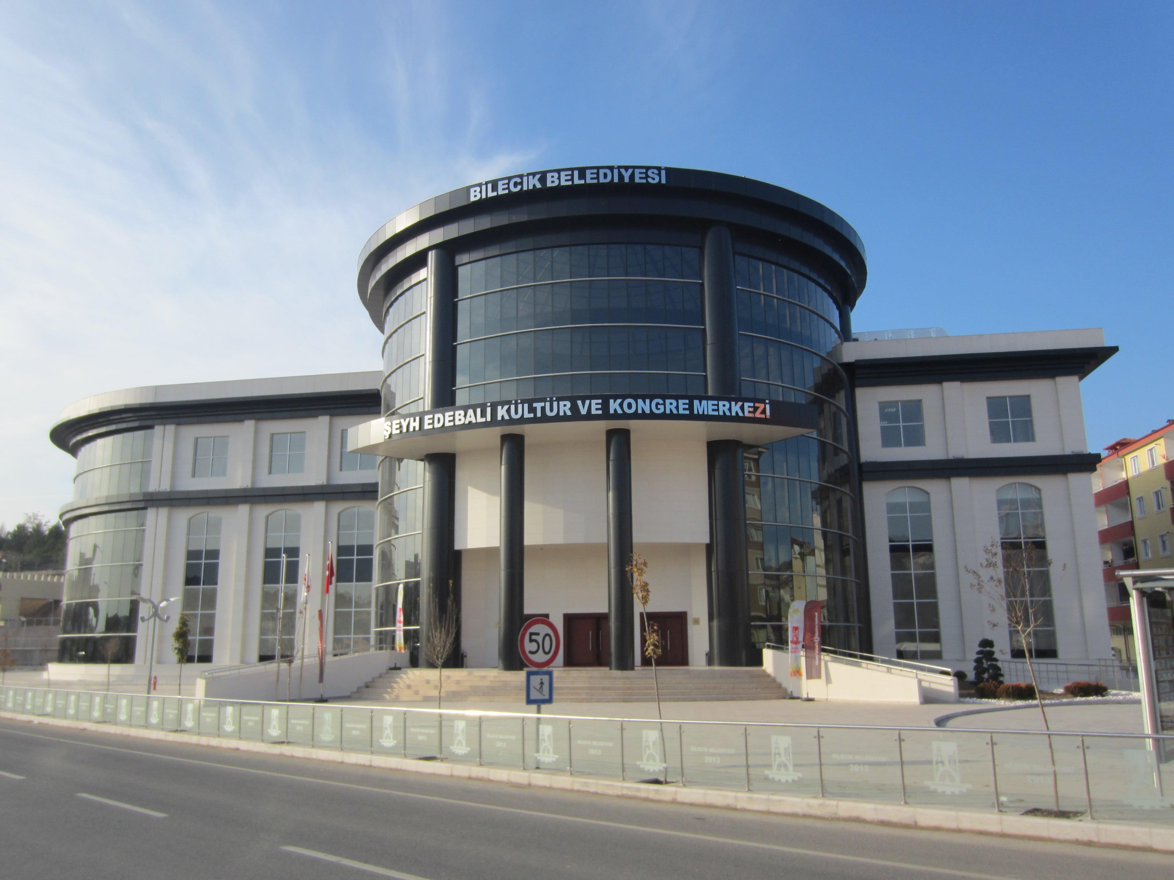 Bilecik şeyh Edebali Kültür Ve Kongre Merkezi