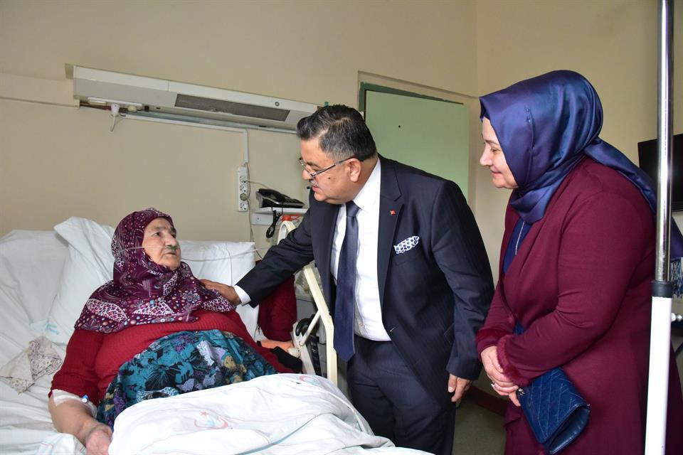 Bilecik Milletvekili Selim Yağcı Hastane Ziyareti