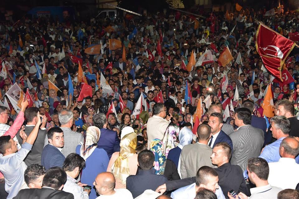 AK Partinin 24 Haziran'da Bilecik'te Zafer Coşkusu