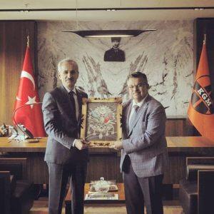 Karayolları Genel Müdürü Abdülkadir Uraloğlu İle İstişare Toplantısı 1